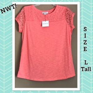 Lace embellished shirt